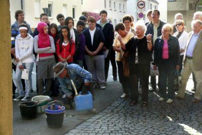 2009: Mehr Stolpersteine werden verlegt