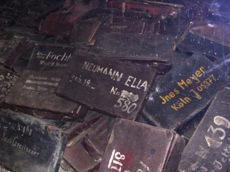 Ein Foto aus Auschwitz
