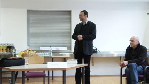 April 2008: Vortrag von Joachim Hahn