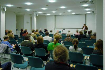 Oktober 2007: Erste Besprechung im Staatsarchiv