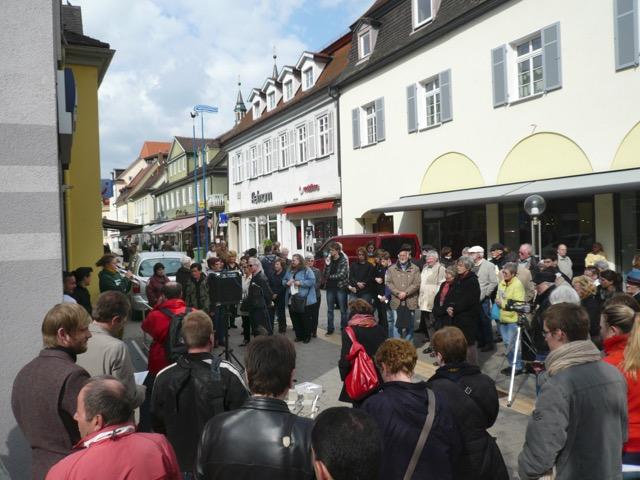 Stolperstein-Verlegungen 2011
